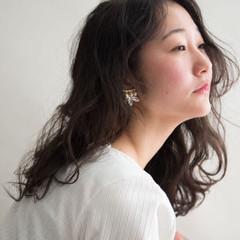 デジタルパーマ 無造作パーマ パーマ ナチュラル ヘアスタイルや髪型の写真・画像