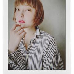 ナチュラル ボブ 阿藤俊也 PEEK-A-BOO ヘアスタイルや髪型の写真・画像
