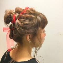 ヘアアレンジ ガーリー 外国人風 ウェットヘア ヘアスタイルや髪型の写真・画像