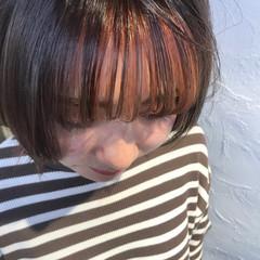 ゆるふわパーマ オレンジベージュ ガーリー ミルクグレージュ ヘアスタイルや髪型の写真・画像