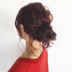 ヘアアレンジ ショート 色気 ボブ ヘアスタイルや髪型の写真・画像