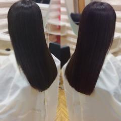髪質改善 髪質改善トリートメント ロングヘア ナチュラル ヘアスタイルや髪型の写真・画像