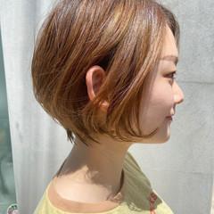 ショート ショートヘア ハイライト ハンサムショート ヘアスタイルや髪型の写真・画像