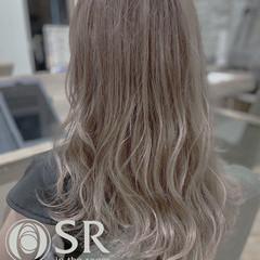 ロング グラデーションカラー デザインカラー インナーカラー ヘアスタイルや髪型の写真・画像