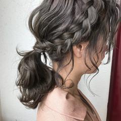 ミディアム フェミニン 結婚式 パーティ ヘアスタイルや髪型の写真・画像