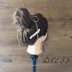 モテ髪 簡単ヘアアレンジ ヘアアレンジ ナチュラル ヘアスタイルや髪型の写真・画像