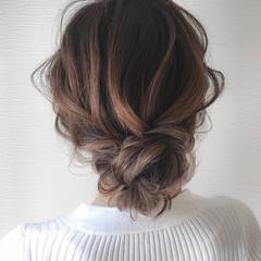 ナチュラル デート 成人式 ヘアアレンジ ヘアスタイルや髪型の写真・画像