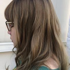 ハイトーン 秋 ストリート ロング ヘアスタイルや髪型の写真・画像