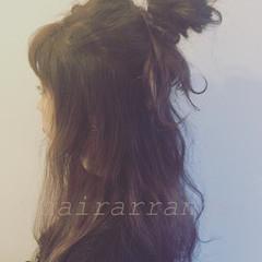 ショート 簡単ヘアアレンジ 外国人風 グレージュ ヘアスタイルや髪型の写真・画像