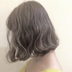 ゆるふわ キュート ボブ ナチュラル ヘアスタイルや髪型の写真・画像