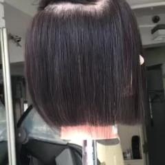 ナチュラル グラデーションボブ お手入れ簡単!! ショートボブ ヘアスタイルや髪型の写真・画像
