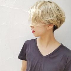 モード ハイトーン 外国人風 秋 ヘアスタイルや髪型の写真・画像