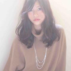 ゆるふわ モテ髪 ガーリー ナチュラル ヘアスタイルや髪型の写真・画像