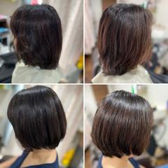 髪質改善 ショートヘア ショート 頭皮改善 ヘアスタイルや髪型の写真・画像