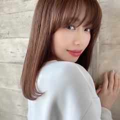 似合わせカット ナチュラル トリートメント 美髪 ヘアスタイルや髪型の写真・画像