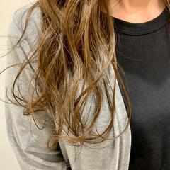 ナチュラル グラデーションカラー ロング 透明感カラー ヘアスタイルや髪型の写真・画像