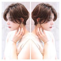 ショートヘア ショート マッシュショート ショートボブ ヘアスタイルや髪型の写真・画像