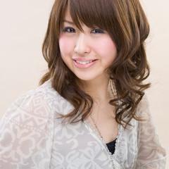 外国人風 縮毛矯正 ロング ヘアアレンジ ヘアスタイルや髪型の写真・画像