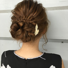 ショート ロング ハーフアップ 簡単ヘアアレンジ ヘアスタイルや髪型の写真・画像