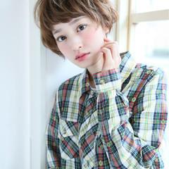 外国人風 ストリート ショートボブ ショート ヘアスタイルや髪型の写真・画像
