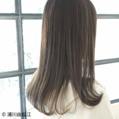 ゆるふわ ハイライト 大人かわいい 艶髪 ヘアスタイルや髪型の写真・画像
