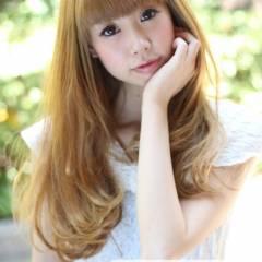 コンサバ 春 キュート ロング ヘアスタイルや髪型の写真・画像