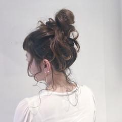 ショート ミディアム 外国人風 お団子 ヘアスタイルや髪型の写真・画像