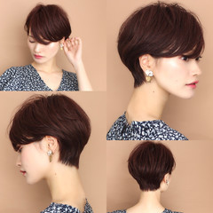フェミニン 田丸麻紀 長澤まさみ ショートヘア ヘアスタイルや髪型の写真・画像