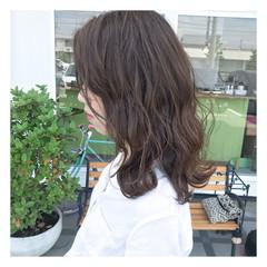 ストリート ミディアム 女子会 透明感 ヘアスタイルや髪型の写真・画像