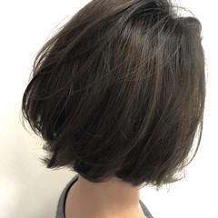 ナチュラル グラデーションカラー ボブ ブリーチなし ヘアスタイルや髪型の写真・画像
