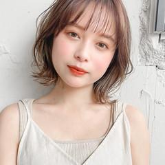シアーベージュ ナチュラル インナーカラー 透明感カラー ヘアスタイルや髪型の写真・画像