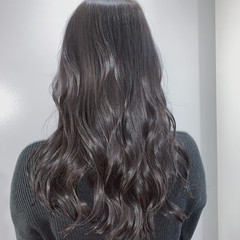 ロング ナチュラル 透明感カラー 大人ロング ヘアスタイルや髪型の写真・画像