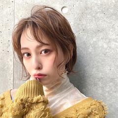 ベリーショート ミニボブ フェミニン ショートヘア ヘアスタイルや髪型の写真・画像