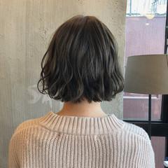 暗髪 ナチュラル 色気 オフィス ヘアスタイルや髪型の写真・画像
