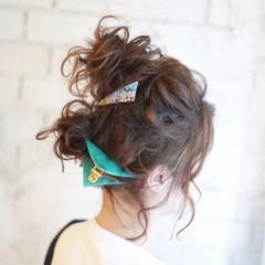 ヘアアレンジ ショート 簡単ヘアアレンジ 夏 ヘアスタイルや髪型の写真・画像