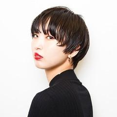似合わせ ショート マッシュ かっこいい ヘアスタイルや髪型の写真・画像
