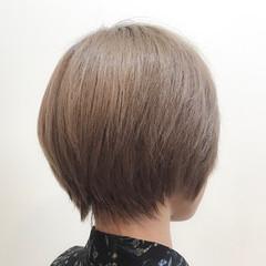 透明感 ナチュラル 小顔 ハイトーン ヘアスタイルや髪型の写真・画像