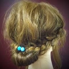 簡単ヘアアレンジ ヘアスタイルや髪型の写真・画像