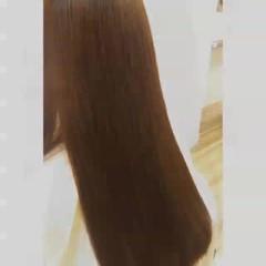 ロング ナチュラル 水素 サラサラ ヘアスタイルや髪型の写真・画像