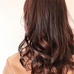 外国人風カラー フェミニン ハイライト スモーキーカラー ヘアスタイルや髪型の写真・画像