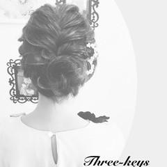 ヘアアレンジ 結婚式 アップスタイル ボブ ヘアスタイルや髪型の写真・画像