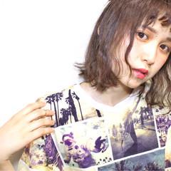 モード ピュア ブラウン 外国人風 ヘアスタイルや髪型の写真・画像