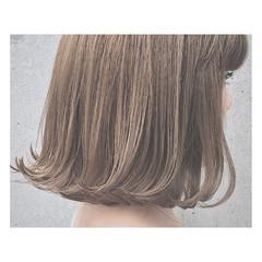 デート ブルージュ 外国人風 アッシュ ヘアスタイルや髪型の写真・画像
