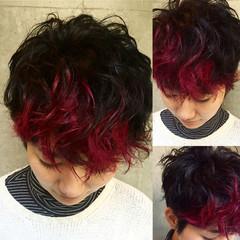 大人かわいい 暗髪 グラデーションカラー ストリート ヘアスタイルや髪型の写真・画像