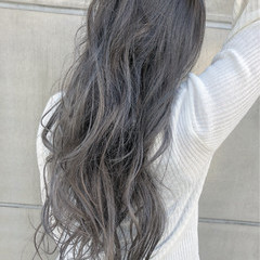 デート モード ヘアアレンジ グラデーションカラー ヘアスタイルや髪型の写真・画像