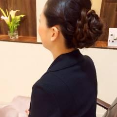 愛され 結婚式 編み込み 二次会 ヘアスタイルや髪型の写真・画像