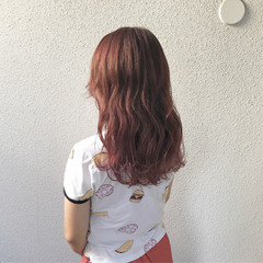 外国人風カラー ダブルカラー 外国人風 ブリーチ ヘアスタイルや髪型の写真・画像