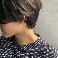 ショート ベリーショート ショートボブ モード ヘアスタイルや髪型の写真・画像