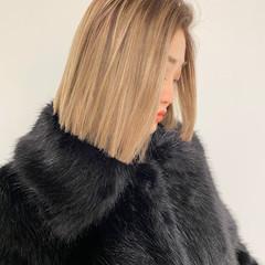 ストリート アッシュベージュ ベージュ ミルクティーベージュ ヘアスタイルや髪型の写真・画像