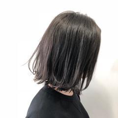 簡単ヘアアレンジ ロブ ナチュラル ボブ ヘアスタイルや髪型の写真・画像